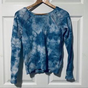 American Eagle Blue Bleached Sweather